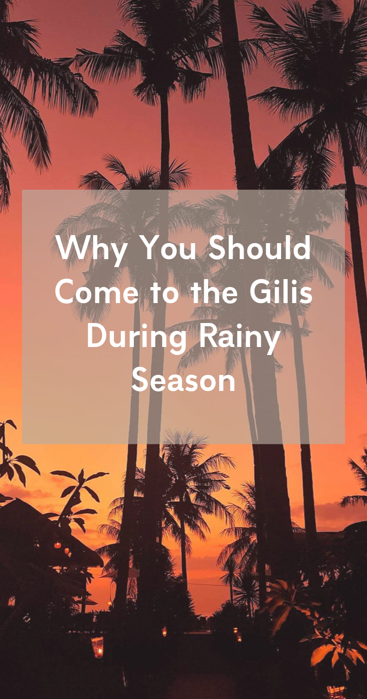 Grand Sunset Gili Air Raint Season
